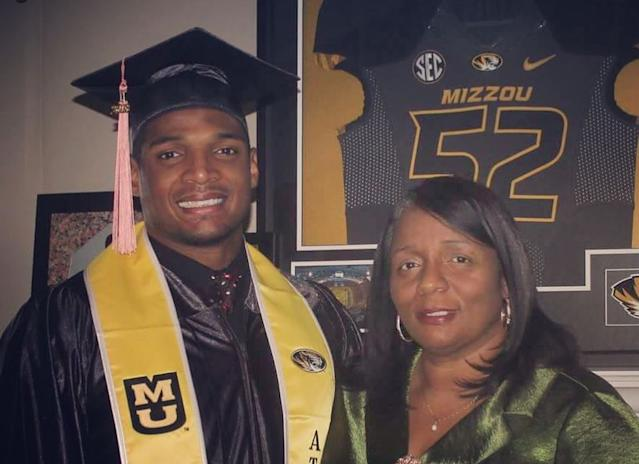 Michael Sam and his mother, JoAnn. (Courtesy of Michael Sam)