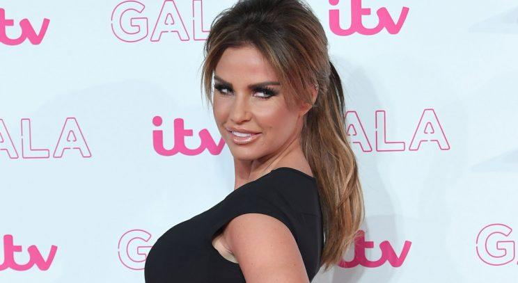 Katie Price/Rex Photos