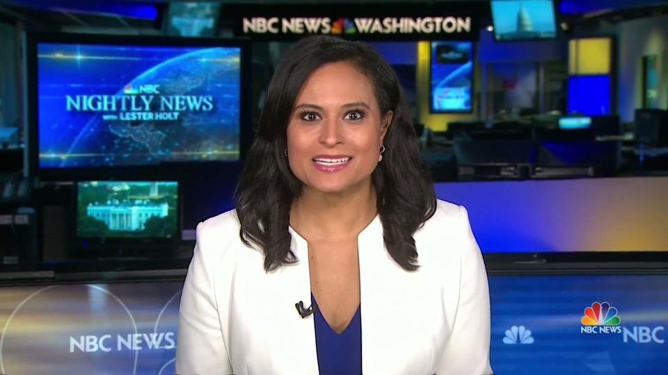Moderator Kristen Welker of NBC mostly kept the debate on track.