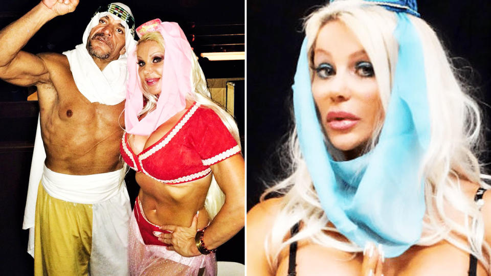 Melissa Coates, known in the WWE as 'Super Genie', died at age 50. Image: Twitter