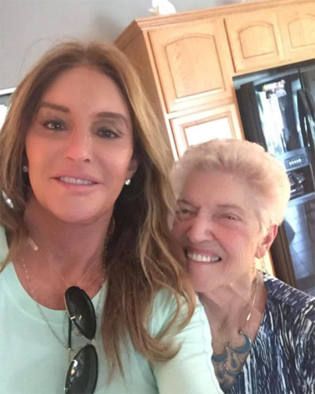 "<p>It was an especially ""big day"" for Caitlyn Jenner's mom Esther: It was ""Mother's Day and her 91st birthday!"" A selfie was part of the fun festivities. We hope that made up for the fact that Caitlyn was omitted from all of Kris Jenner's family posts. (Photo: <a href=""https://www.instagram.com/p/BUGSemHhK57/"" rel=""nofollow noopener"" target=""_blank"" data-ylk=""slk:Caitlyn Jenner via Instagram"" class=""link rapid-noclick-resp"">Caitlyn Jenner via Instagram</a>) </p>"