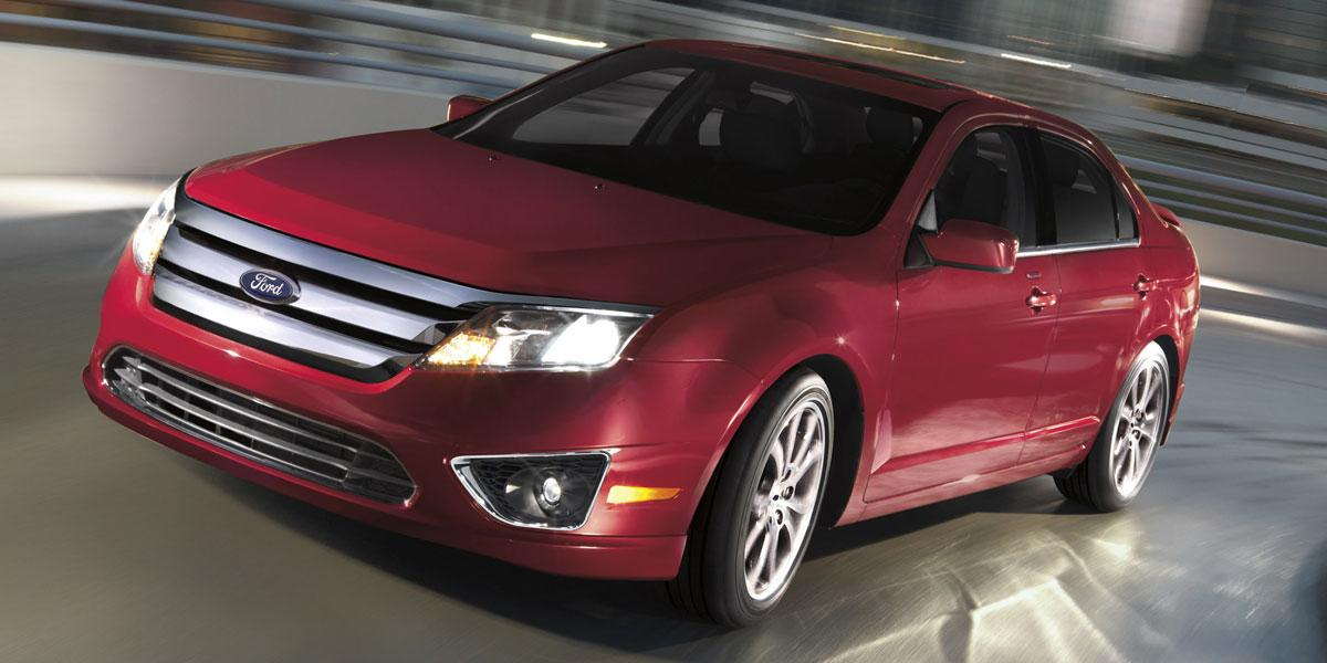 """<b>Midsize Sedan: <a href=""""https://autos.yahoo.com/used-cars/overview?distance=30&location=&bodystyle=&modelyearlb=2007&modelyearub=2011&make=ford&model=fusion&askpricelb=&askpriceub=&deliverymileagelb=&deliverymileageub=&listingtype=used&keywords="""" target=""""_blank"""">2007-'11 Ford Fusion</a></b><br />This selection nearly encompasses the first two generations of the Fusion: 2006-'09 and 2010-'12. Either version of this competent sedan offers a spacious cabin, responsive driving dynamics, solid build quality and attractive styling. The Ford also offers something rather rare in this segment: a sporty driving personality to go along with its practicality. In addition to four- and six-cylinder gasoline engines, Ford offered a hybrid Fusion. It debuted for 2010, sporting a 39 mpg combined fuel economy rating.<br /><br />Shoppers should be aware of some notable changes over the years. Front-seat side and full-length side curtain airbags became standard for the 2007 model year, so we highly recommend that you seek out a 2007 or newer Ford Fusion. All-wheel drive and a factory navigation system also became available in 2007. The 2009 model year brought optional stability control, a desirable safety feature. Apart from its refreshed front and rear styling, the second-generation Fusion looks similar to the first, but consumers should take note that this later version of the Ford Fusion has more powerful engines and more standard safety features."""