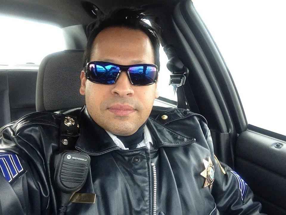 Javier Esqueda is a former Marine reservist and 27-year veteran of the Joliet Police Department.