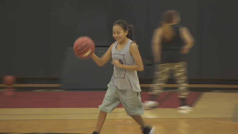 Shooting hoops with the Raptors: Northern Manitoba community team in T.O. for tourney