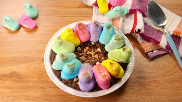 """<p>If you only make one pie this Easter, make it this one.</p><p>Get the recipe from <a href=""""https://www.delish.com/holiday-recipes/easter/recipes/a52031/rocky-road-easter-pie-video-recipe/"""" rel=""""nofollow noopener"""" target=""""_blank"""" data-ylk=""""slk:Delish"""" class=""""link rapid-noclick-resp"""">Delish</a>.</p>"""