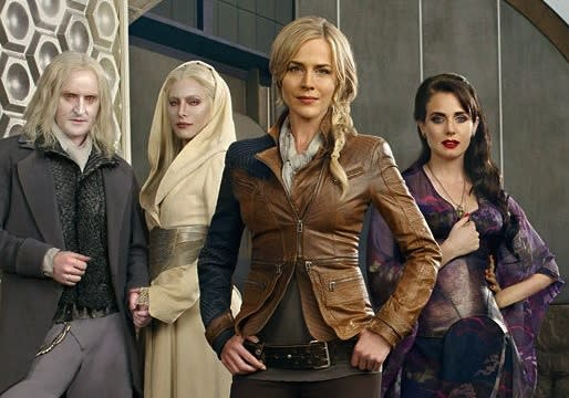 Julie Benz on Playing Defiance's 'Badass' Mayor: Not Being 'The Sexy One' Is Definitely Fun