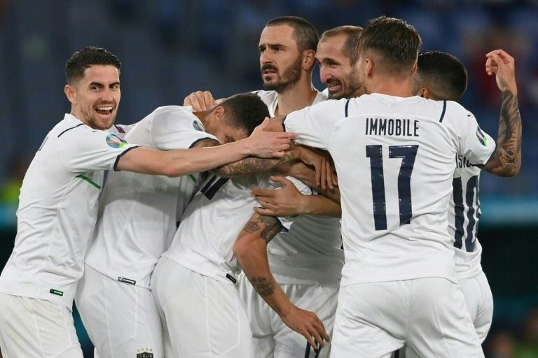 Italy stretched their unbeaten run to 28 games.
