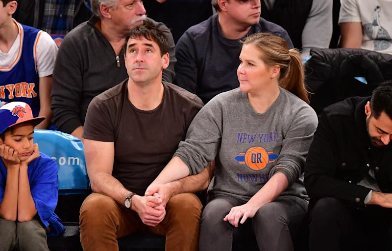 Amy Schumer paid tribute to husband Chris Fischer and her mom on Father's Day. (Photo: James Devaney/Getty Images)
