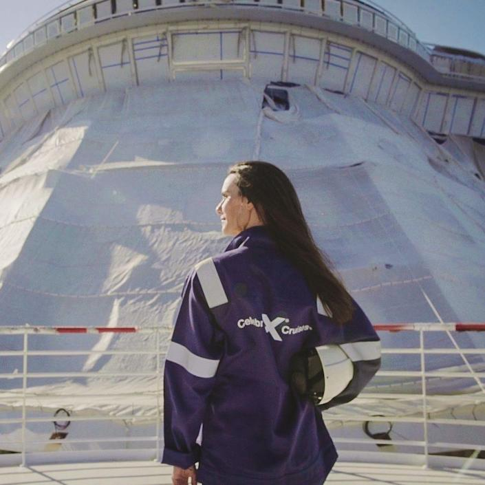 Captain Kate McCue will captain the Celebrity Beyond, Celebrity Cruises' newest vessel, launching in April 2022.