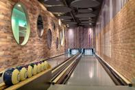 <p><strong>Top tip: </strong></p><p>Not satisfied simply with a comfy place to rest your head, if you head down to the basement at The Courthouse, you'll find one of their two secret weapons and, by weapons, we mean delightful places to hang out. The bowling alley!</p>