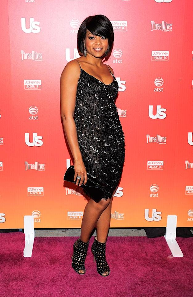 "Taraji Henson's peep-toe booties -- crazy hot or crazy not? Todd Williamson/<a href=""http://www.wireimage.com"" target=""new"">WireImage.com</a> - April 22, 2009"