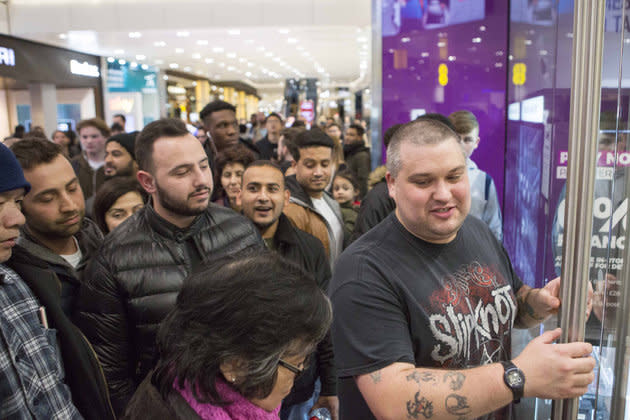 Black Friday often conjures up images of huge crowds pushing through shop doors as customers fight over the best bargains.
