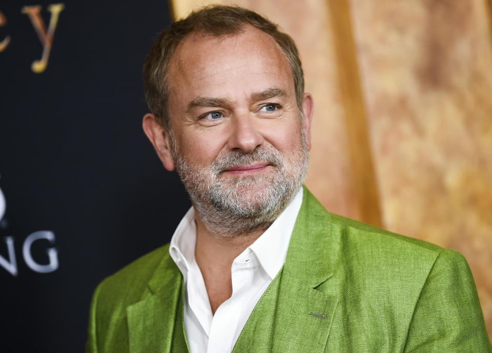 Actor Hugh Bonneville attends the premiere of