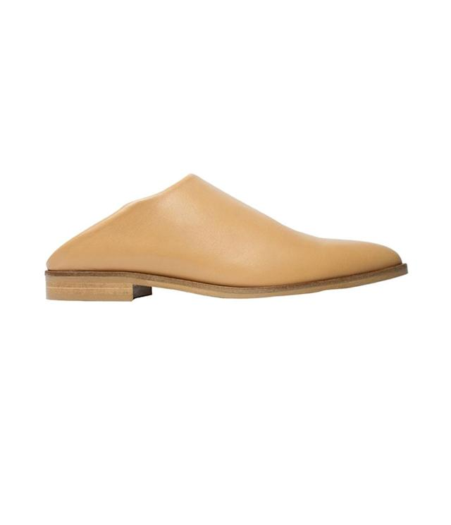"<p>The Modern Babo, $145, <a href=""https://www.everlane.com/products/womens-modern-babo-sand?collection=womens-shoes"" rel=""nofollow noopener"" target=""_blank"" data-ylk=""slk:everlane.com"" class=""link rapid-noclick-resp"">everlane.com</a> </p>"