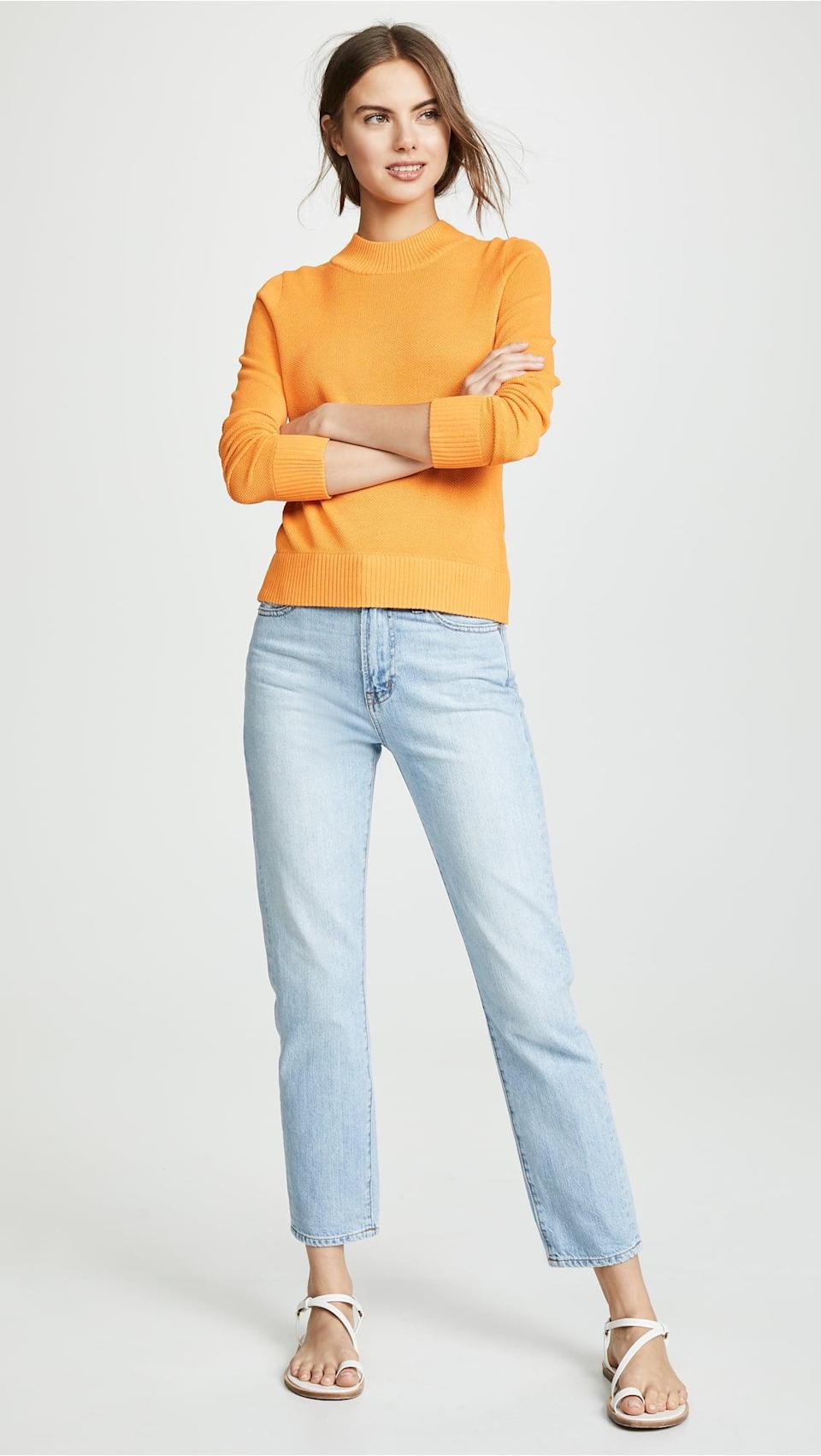 <p>The name says it all; these <span>Madewell Perfect Vintage Jeans</span> ($90, originally $118) are ideal for all the days of the year.</p>