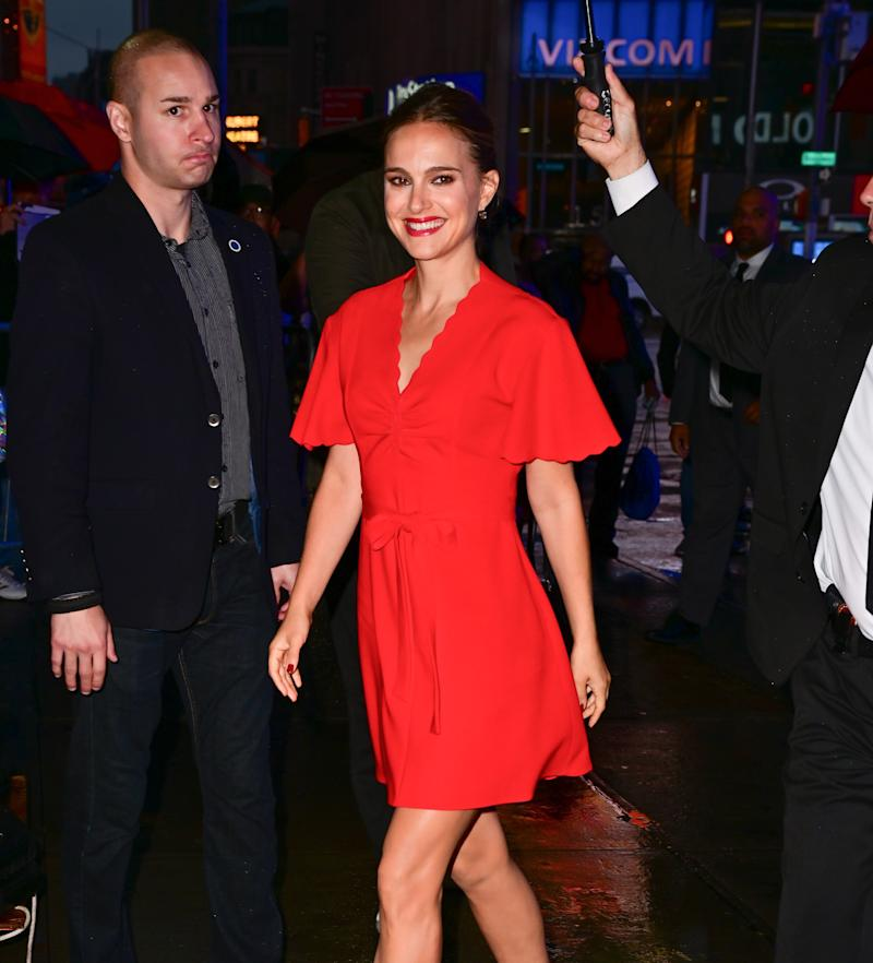 Natalie Portman Makes the Case for Matchy Makeup in New York