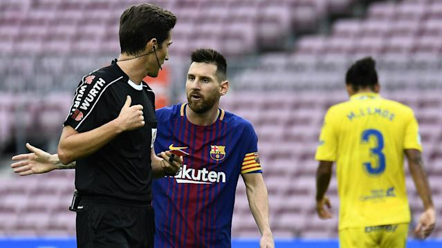 The 25-year-old received a high-profile red card for talking back to an official in the Champions League and has complained about double standards