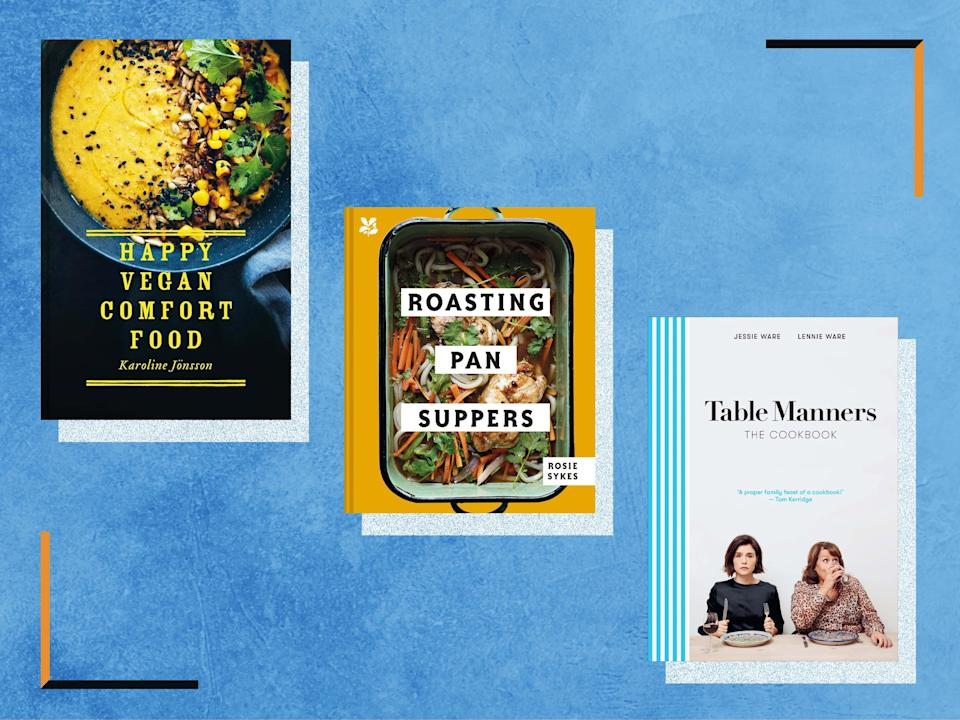 <p>We tried and tested books from TV chefs, podcasters, columnists and restaurateurs</p> (The Independent)