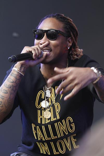Future performs during the SXSW Music Festival Friday March 14, 2014, in Austin, Texas. (Photo by Jack Plunkett/Invision/AP)