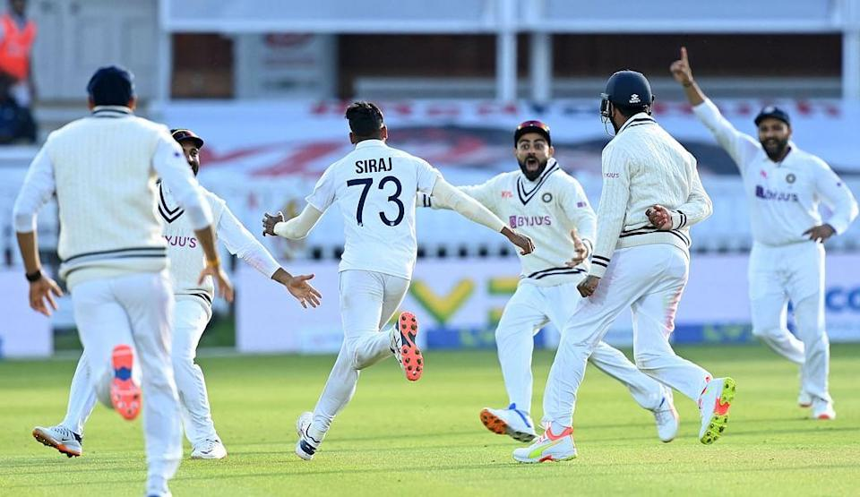 India defeats England at Lord's