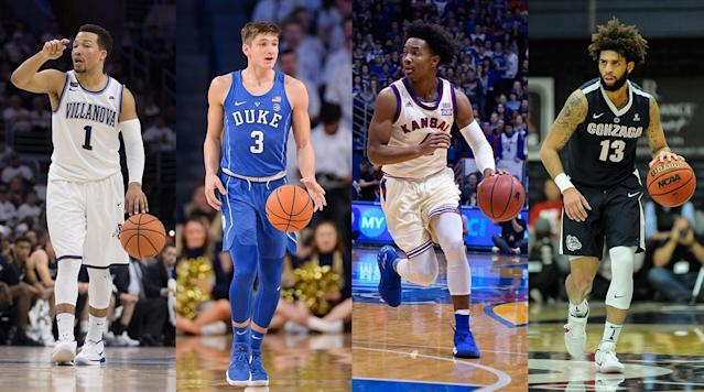 <p>Predicting college basketball's national champion is a treacherous enough prospect when the NCAA tournament field is actually set. Picking one in mid-February is a fool's errand, but for nearly two decades now, in a tradition begun by Grant Wahl and carried on by Luke Winn, SI.com has ventured to do just that. The key, however, is to pick not one team, but a pool of eight from which the eventual national champion will emerge.</p><p>Of course, the Magic Eight is not as simple as just listing the eight best teams in the country. Tradition dictates that the degree of difficulty be upped by excluding at least two of the top eight teams in the current AP poll, and including at least one team from outside that poll's top 15. With the blessing of Luke, now ensconced in the Toronto Raptors' front office, I present to you this year's Magic Eight, in no particular order:</p><h3><strong>Virginia (24-2, 13-1 ACC)</strong></h3><p>Picking the current No. 1 team in the country seems as safe a choice as any, but the Cavaliers don't exactly have the usual profile of a national champion. Their offense currently ranks 44th in adjusted efficiency; in the KenPom era (since 2002), only one team has entered the tournament with an offense ranked lower than 21st. That was the UConn team whose offense was the country's 57th-most efficient in 2014, in one of the least predictable and least replicable tournament runs of the modern era. Virginia doesn't have Shabazz Napier, but what it does have is the most efficient defense we've seen in the 16 seasons of KenPom data. The Cavs were a better scoring team the seasons of their 2014 and 2016 second-weekend flameouts, but they've never had a defense <em>this</em> good—nor has anyone in a long time. It could be good enough to finally bring a title to Charlottesville.</p><h3><strong>Purdue (23-4, 12-2 Big Ten)</strong></h3><p>When you look for championship-level balance, the Boilermakers offer as good a profile as anybody's. They currently rank th