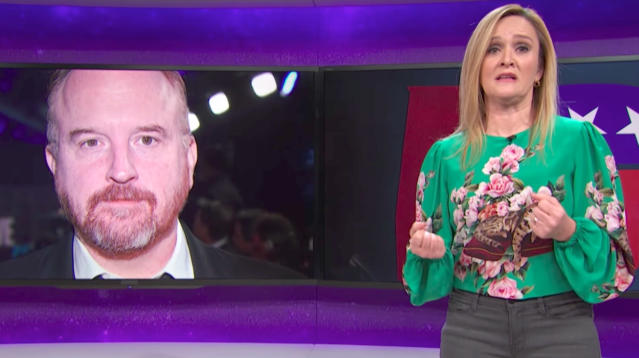 Samantha Bee Takes Aim At 'Critically-Acclaimed Pervert' Louis C.K.