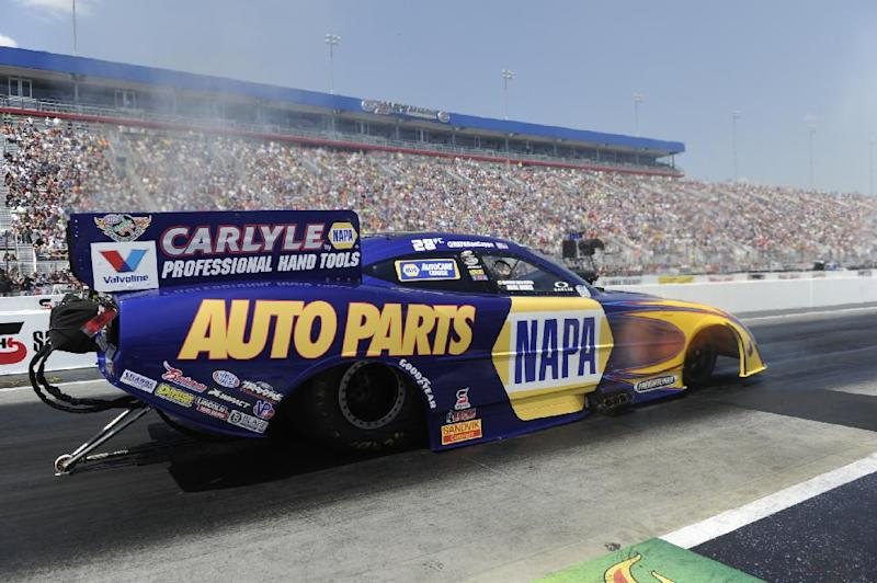 Shawn Langdon qualifies No. 1 in Top Fuel