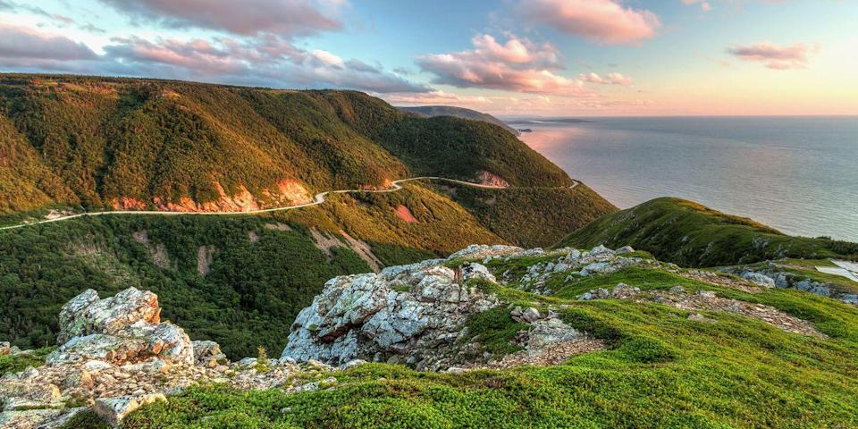"""<p>Part of Nova Scotia, Cape Breton Island is Canada's best kept secret. Highlights include the <a href=""""https://go.redirectingat.com?id=74968X1596630&url=https%3A%2F%2Fwww.tripadvisor.com%2FAttraction_Review-g154972-d186150-Reviews-Cabot_Trail-Cape_Breton_Island_Nova_Scotia.html&sref=https%3A%2F%2Fwww.redbookmag.com%2Flife%2Fg36983737%2Fmost-beautiful-islands-in-the-world%2F"""" rel=""""nofollow noopener"""" target=""""_blank"""" data-ylk=""""slk:Cabot Trail"""" class=""""link rapid-noclick-resp"""">Cabot Trail</a>, a spectacular 185-mile coast-hugging scenic drive, the 18th-century <a href=""""https://go.redirectingat.com?id=74968X1596630&url=https%3A%2F%2Fwww.tripadvisor.com%2FAttraction_Review-g499217-d186894-Reviews-Fortress_of_Louisbourg_National_Historic_Site-Louisbourg_Cape_Breton_Island_Nova_S.html&sref=https%3A%2F%2Fwww.redbookmag.com%2Flife%2Fg36983737%2Fmost-beautiful-islands-in-the-world%2F"""" rel=""""nofollow noopener"""" target=""""_blank"""" data-ylk=""""slk:Fortress of Louisbourg"""" class=""""link rapid-noclick-resp"""">Fortress of Louisbourg</a>, the Acadian fishing village of Cheticamp, and lobster galore.</p>"""