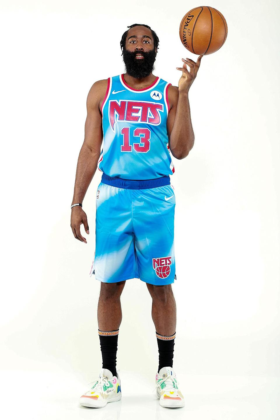 <p>Brooklyn Nets player Harden was picked first for Durant's reserve roster.</p>