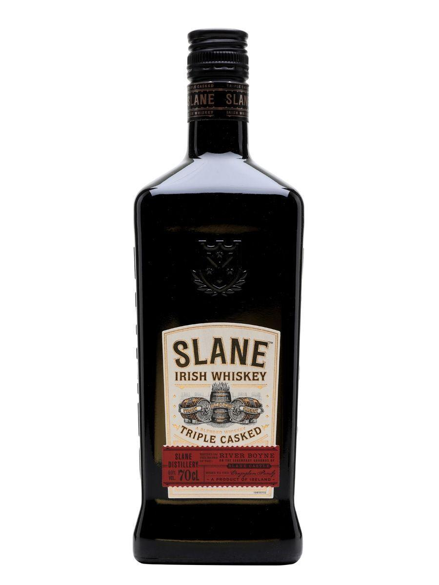 """<p><strong>Slane</strong></p><p>drizly.com</p><p><strong>$34.99</strong></p><p><a href=""""https://go.redirectingat.com?id=74968X1596630&url=https%3A%2F%2Fdrizly.com%2Fliquor%2Fwhiskey%2Firish-whiskey%2Fslane-irish-whiskey%2Fp63530%3Fvariant%3D92846&sref=https%3A%2F%2Fwww.delish.com%2Fentertaining%2Fg31132182%2Fbest-irish-whiskey%2F"""" rel=""""nofollow noopener"""" target=""""_blank"""" data-ylk=""""slk:BUY NOW"""" class=""""link rapid-noclick-resp"""">BUY NOW</a></p><p>If you want something authentic as hell, this is your best bet. Slane whiskey is made on the grounds of Slane Castle in Ireland. It's remarkably smooth because it's aged in three different casks. It's hard to find better reviews for an Irish whiskey than this one has. </p>"""