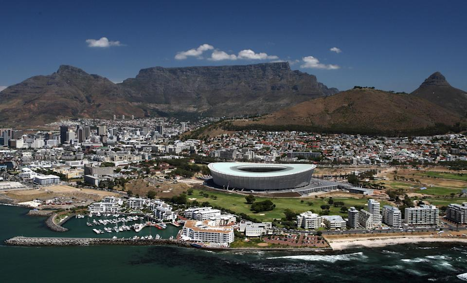 Green Point Stadium in South Africa, posted by u/CuddlyLiveWires. (Getty)
