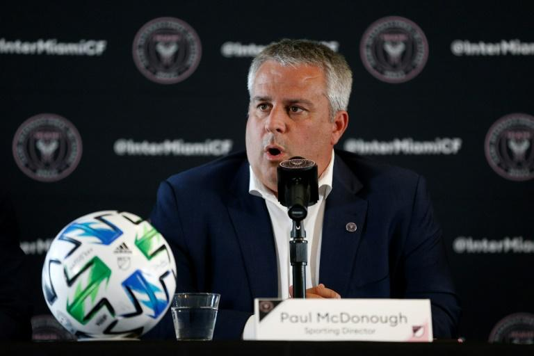 Sporting Director Paul McDonough of Inter Miami, seen here in January 2020, says the MLS club is offering a safe environment for players as the league allows them to return to club facilities to train in areas where COVID-19 restrictions allow