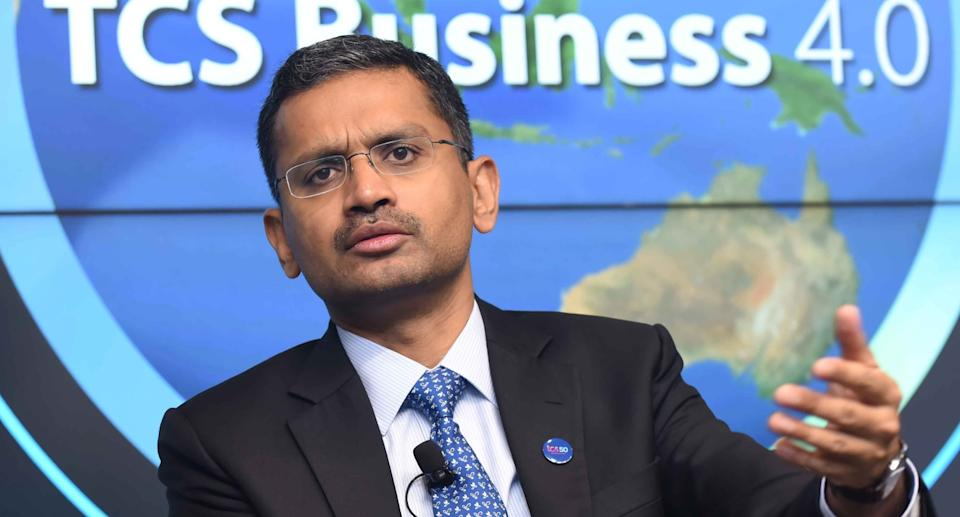 Rajesh Gopinathan, Chief Executive Officer, Tata Consultancy Services Ltd. Photo: Karen Dias/Bloomberg via Getty Images
