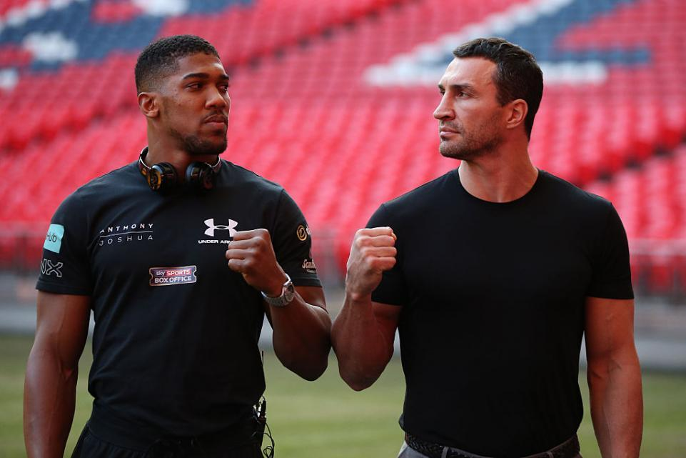 Joshua and Klitschko