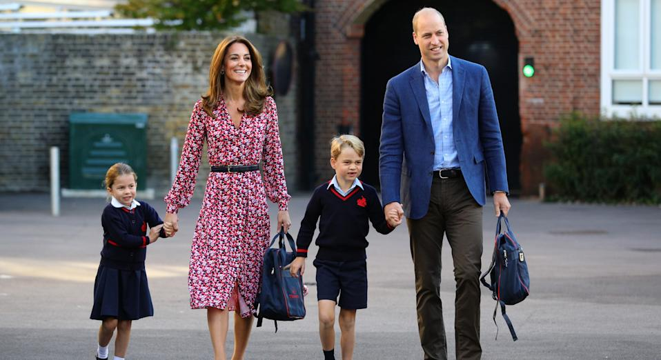 Prince William and Kate Middleton are understood to be keen to keep the siblings together (Getty Images)