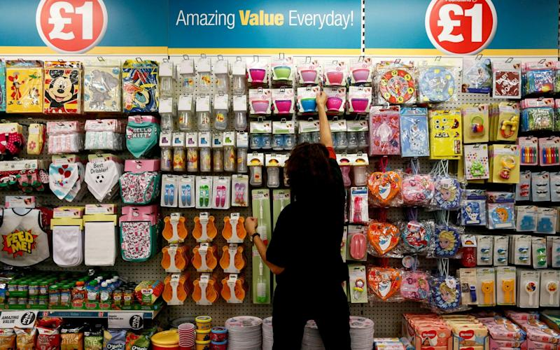 Steinhoff owns Poundland in the UK - REUTERS