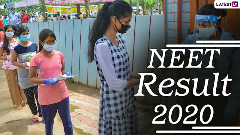 NEET 2020 Result Declared: Check Final Answer Key and NTA Rank List Online at ntaneet.nic.in, Here's the Direct Result Link
