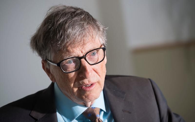 Bill Gates warns a bioterrorist attack could be deadlier than a nuclear bomb  - David Rose