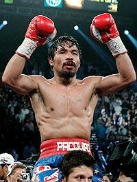Manny Pacquiao won a controversial decision over Juan Manuel Marquez in his last fight