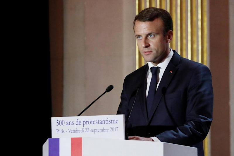 Emmanuel Macron is expected to agree the deal in principle on Thursday (REUTERS)