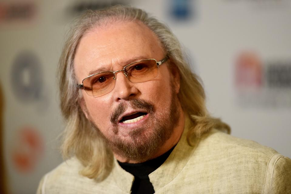 LONDON, ENGLAND - JUNE 30:  Barry Gibb attends the Nordoff Robbins' O2 Silver Clef Awards at The Grosvenor House Hotel on June 30, 2017 in London, England.  (Photo by Dave J Hogan/Dave J Hogan/Getty Images)