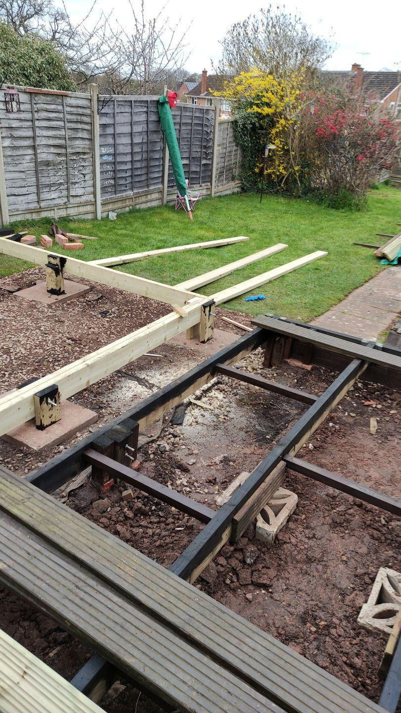 <p>Building your own patio is no easy feat, as Colin Daniel soon realised. Despite starting off well, Colin's frame collapsed and the boards had to be pulled up so the frame could be fixed. <br></p>