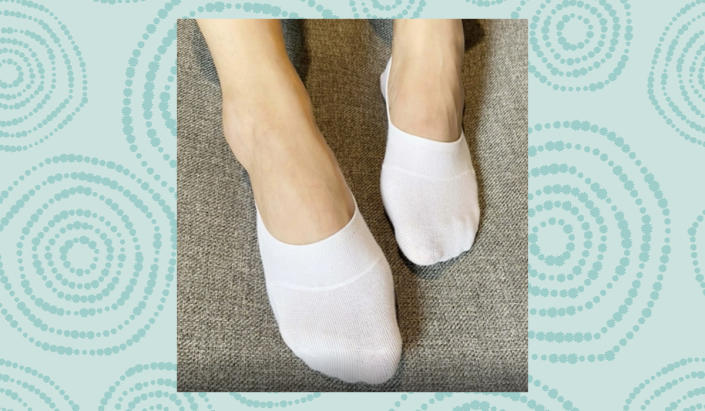 The way to keep your footwear-fashion sense high and your foot comfort on the down-low. (Photo: Amazon)