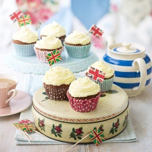 """<p>These yummy chocolate cupcakes are simple to make and only take 35 minutes.</p><p><strong>Recipe: <a href=""""https://www.goodhousekeeping.com/uk/food/recipes/a535237/easy-chocolate-cupcakes/"""" rel=""""nofollow noopener"""" target=""""_blank"""" data-ylk=""""slk:Easy Chocolate Cupcakes"""" class=""""link rapid-noclick-resp"""">Easy Chocolate Cupcakes</a></strong></p>"""