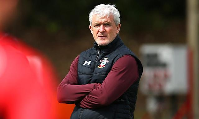 Southampton's Mark Hughes said being relegated from the Premier League 'has an impact on fans, the area, businessess, everything'.