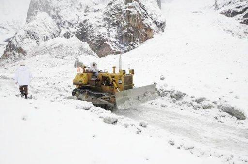 A week ago a huge wall of snow crashed into the remote Siachen Glacier base high in the mountains in disputed Kashmir