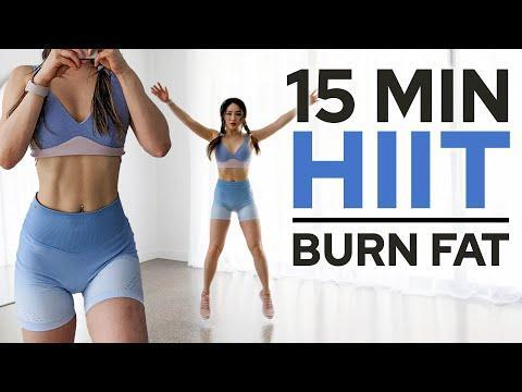"<p>This all-standing 15-minute workout burns calories fast. Chloe Ting incorporates jumps, lunges, squats, and more in this intense HIIT workout. </p><p><a href=""https://www.youtube.com/watch?v=9rQ5wxssQss"" rel=""nofollow noopener"" target=""_blank"" data-ylk=""slk:See the original post on Youtube"" class=""link rapid-noclick-resp"">See the original post on Youtube</a></p>"