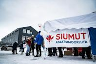 Polls suggest the ruling Siumut party is trailing in the polls