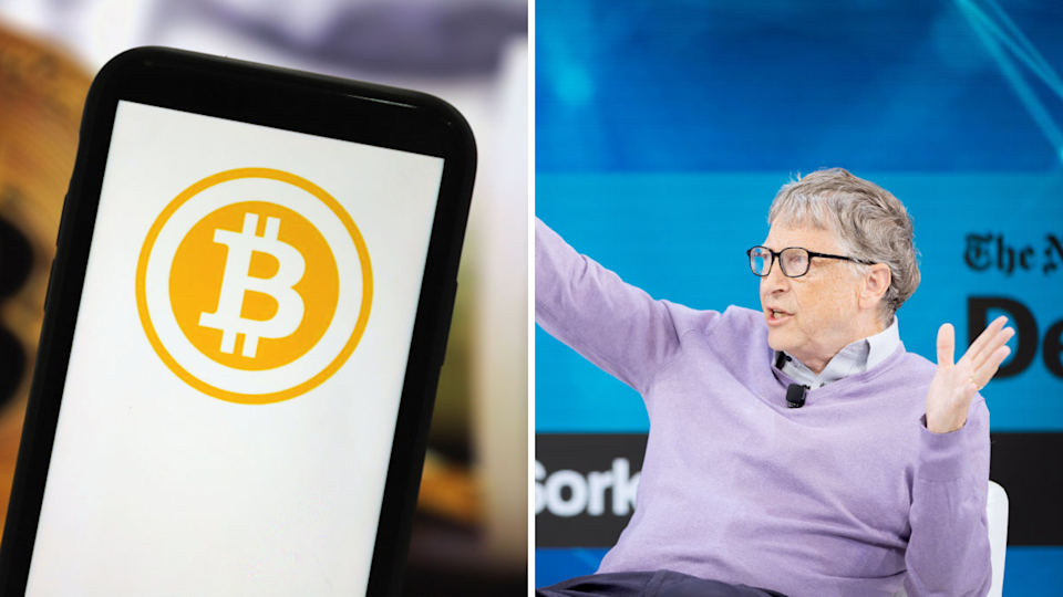 Bill Gates has his say on cryptocurrency. Source: Getty