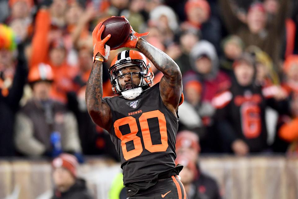Wide receiver Jarvis Landry #80 of the Cleveland Browns
